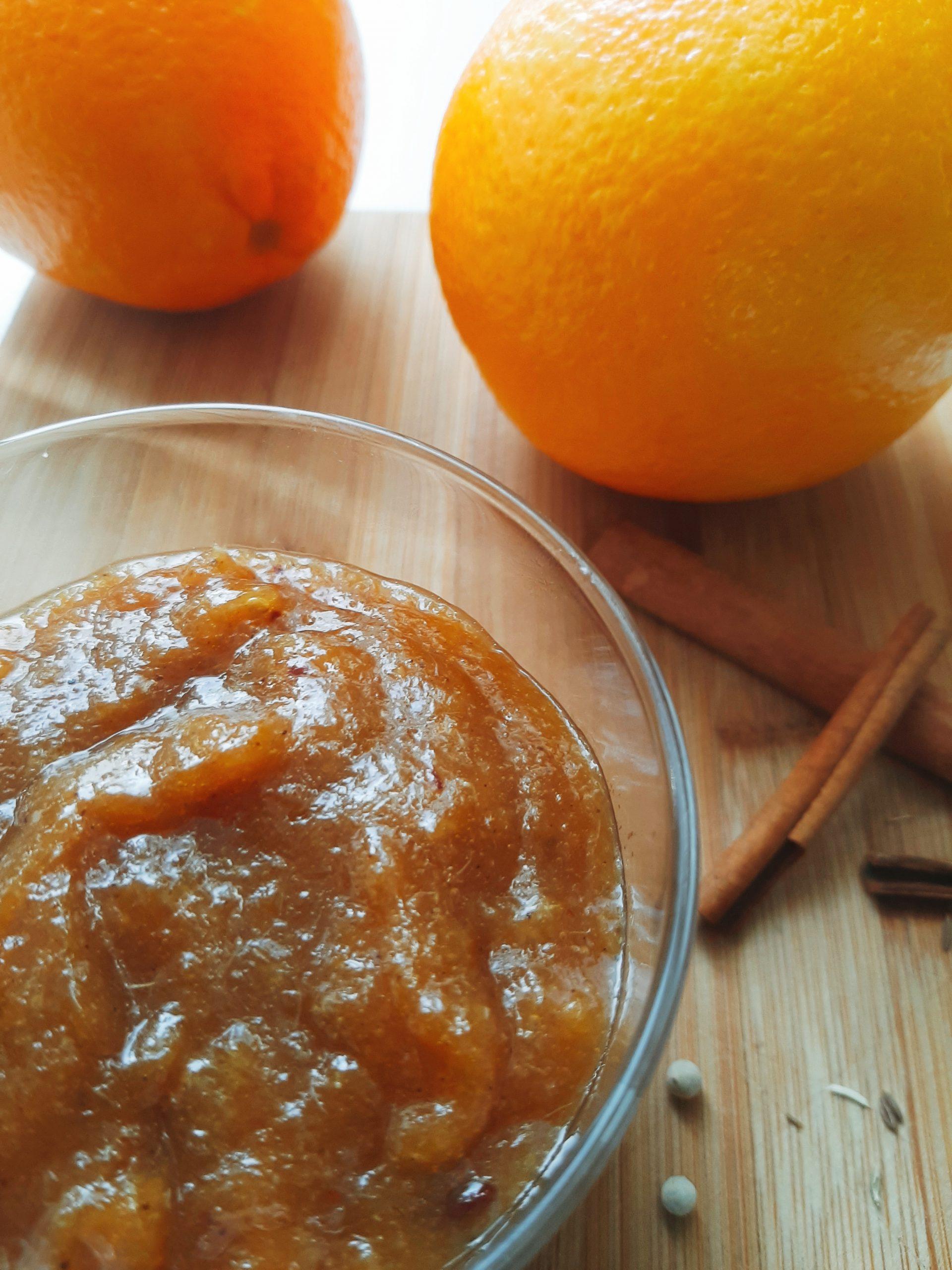 Apelsinų džemas