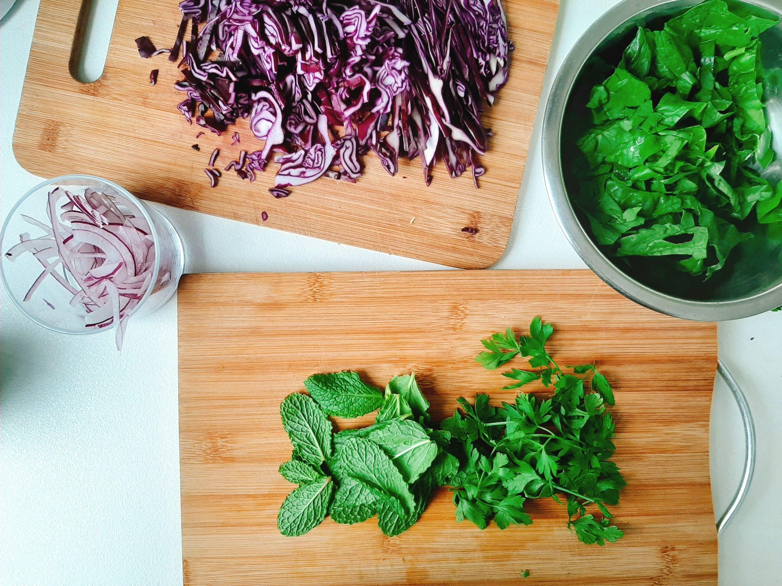 produktai salotoms