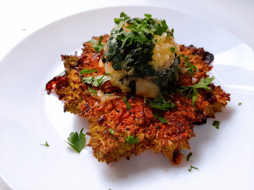 Romanesko brokolio kepsnys