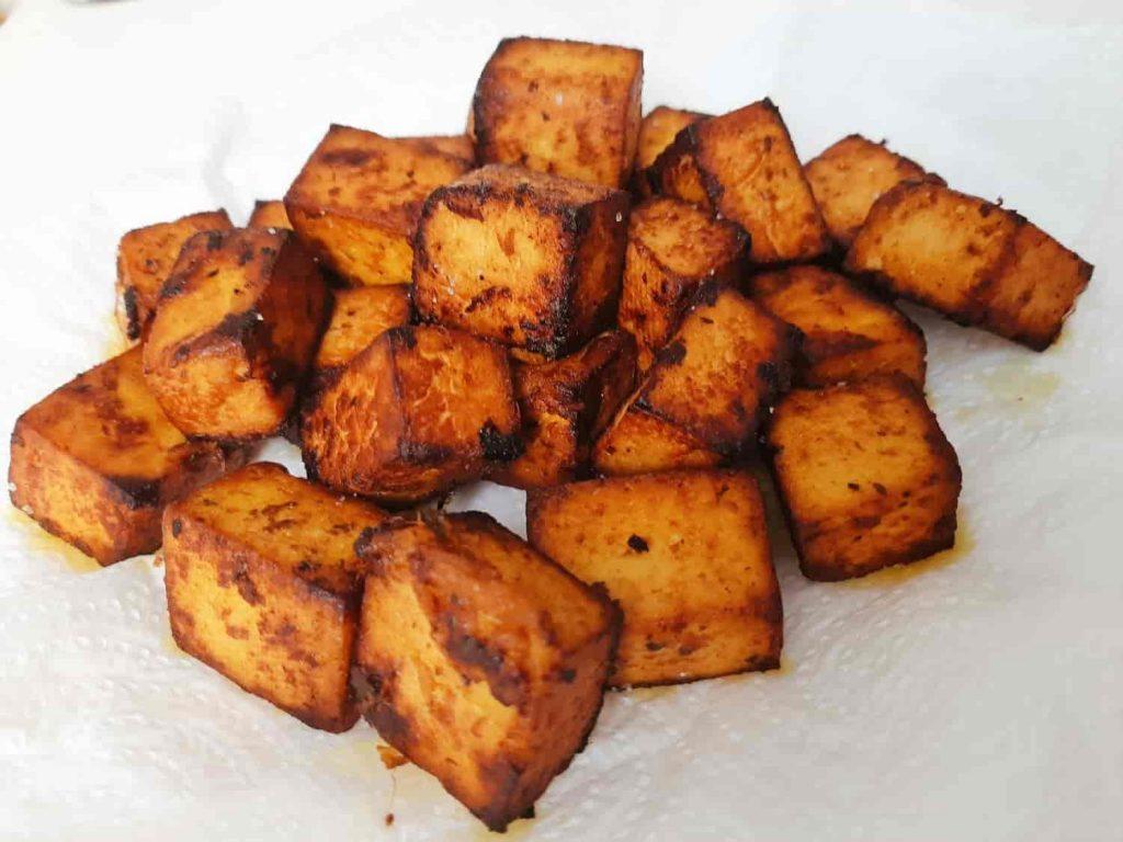 Keptas tofu